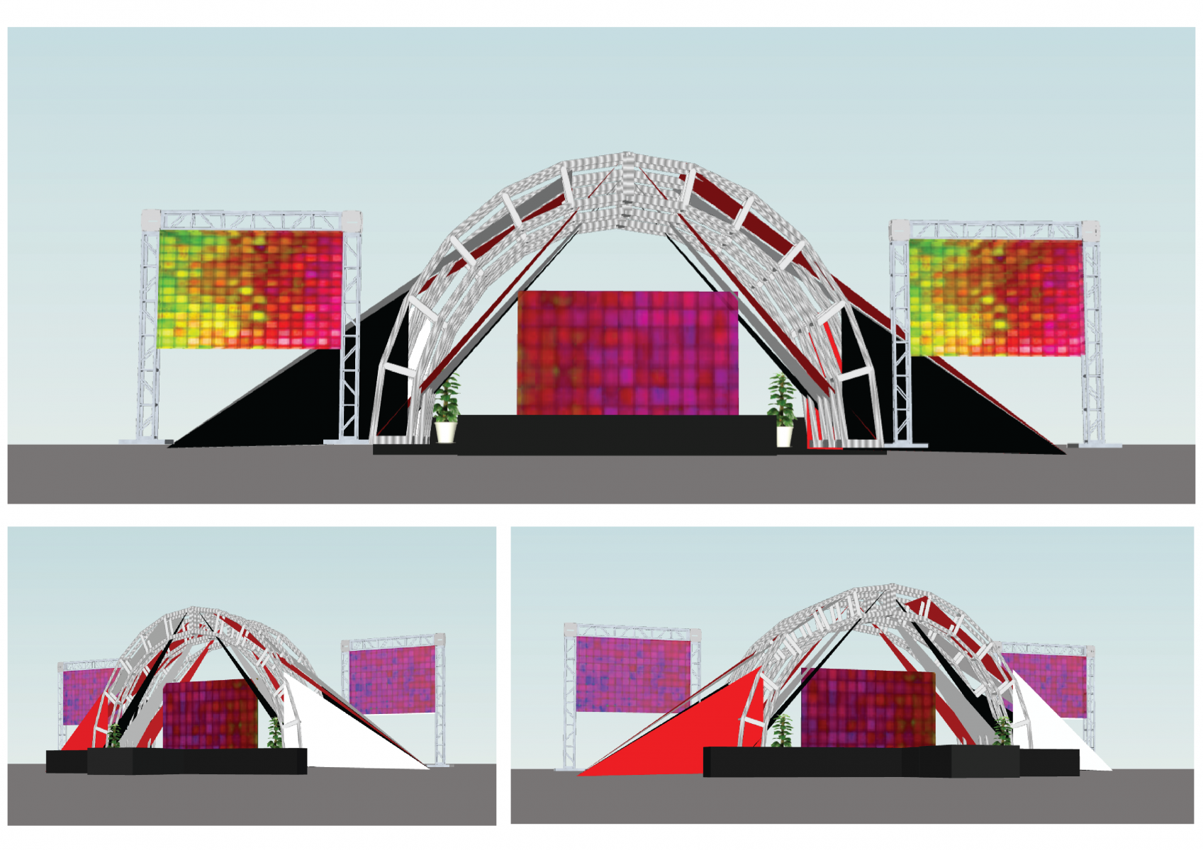 Festival Concept Stage
